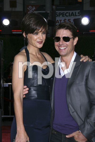 """Tropic Thunder"" PremiereKatie Holmes, Tom Cruise 8-11-2008 / Mann Village Theater / Los Angeles, CA / Dreamworks / Photo by Max Rodeo - Image 23587_0013"
