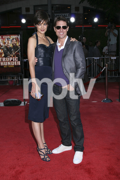 """""""Tropic Thunder"""" PremiereKatie Holmes, Tom Cruise 8-11-2008 / Mann Village Theater / Los Angeles, CA / Dreamworks / Photo by Max Rodeo - Image 23587_0018"""
