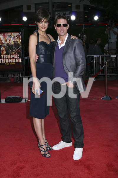 """Tropic Thunder"" PremiereKatie Holmes, Tom Cruise 8-11-2008 / Mann Village Theater / Los Angeles, CA / Dreamworks / Photo by Max Rodeo - Image 23587_0019"