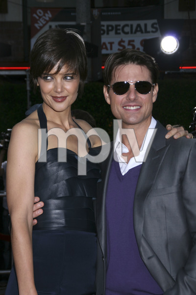"""""""Tropic Thunder"""" PremiereKatie Holmes, Tom Cruise 8-11-2008 / Mann Village Theater / Los Angeles, CA / Dreamworks / Photo by Max Rodeo - Image 23587_0021"""