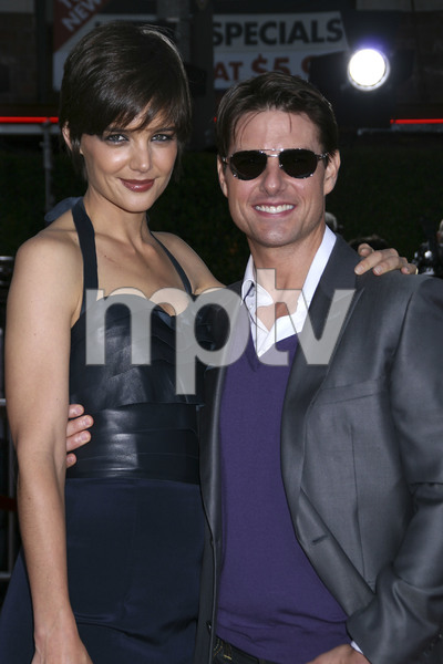"""""""Tropic Thunder"""" PremiereKatie Holmes, Tom Cruise 8-11-2008 / Mann Village Theater / Los Angeles, CA / Dreamworks / Photo by Max Rodeo - Image 23587_0022"""
