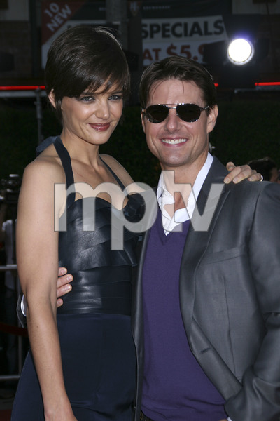 """""""Tropic Thunder"""" PremiereKatie Holmes, Tom Cruise 8-11-2008 / Mann Village Theater / Los Angeles, CA / Dreamworks / Photo by Max Rodeo - Image 23587_0024"""