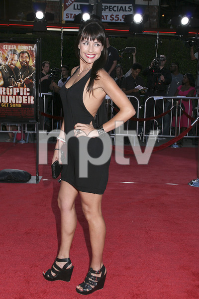 """""""Tropic Thunder"""" Premiere Marcela Mar 8-11-2008 / Mann Village Theater / Los Angeles, CA / Dreamworks / Photo by Max Rodeo - Image 23587_0034"""
