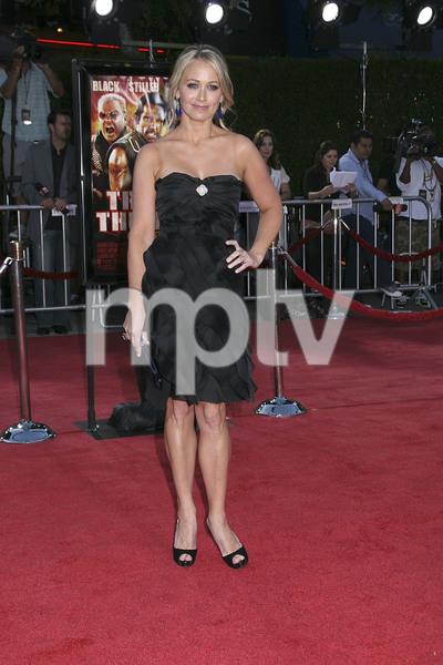 """""""Tropic Thunder"""" Premiere Christine Taylor 8-11-2008 / Mann Village Theater / Los Angeles, CA / Dreamworks / Photo by Max Rodeo - Image 23587_0044"""