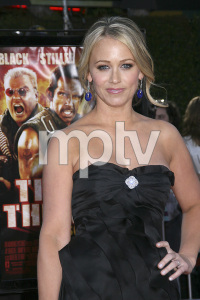 """""""Tropic Thunder"""" Premiere Christine Taylor 8-11-2008 / Mann Village Theater / Los Angeles, CA / Dreamworks / Photo by Max Rodeo - Image 23587_0045"""