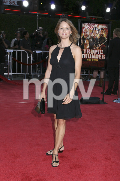 """Tropic Thunder"" Premiere Jodie Foster 8-11-2008 / Mann Village Theater / Los Angeles, CA / Dreamworks / Photo by Max Rodeo - Image 23587_0049"