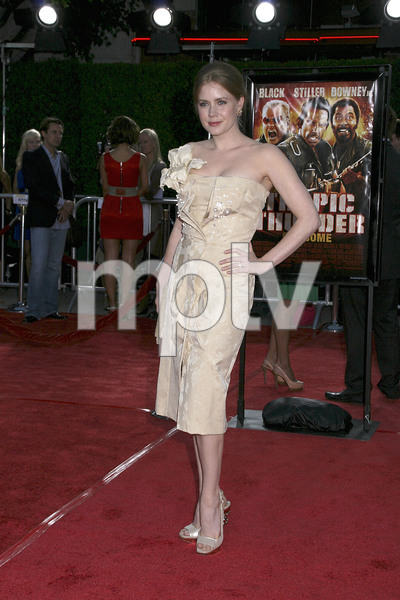 """""""Tropic Thunder"""" Premiere Amy Adams 8-11-2008 / Mann Village Theater / Los Angeles, CA / Dreamworks / Photo by Max Rodeo - Image 23587_0056"""