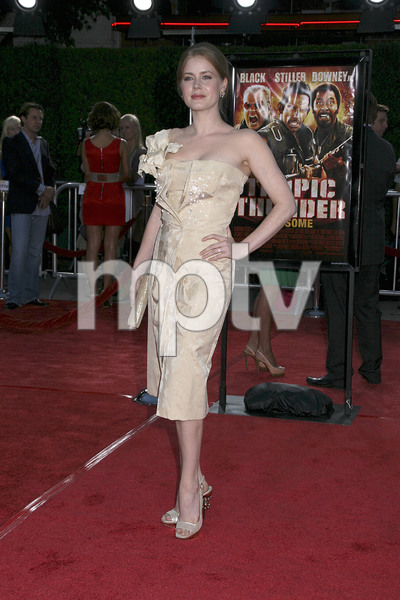"""""""Tropic Thunder"""" Premiere Amy Adams 8-11-2008 / Mann Village Theater / Los Angeles, CA / Dreamworks / Photo by Max Rodeo - Image 23587_0057"""