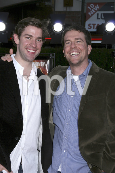 """Tropic Thunder"" Premiere John Krasinski, Ed Helms 8-11-2008 / Mann Village Theater / Los Angeles, CA / Dreamworks / Photo by Max Rodeo - Image 23587_0062"