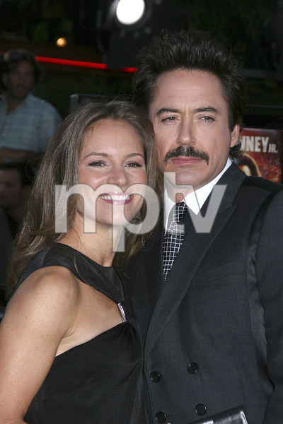 """""""Tropic Thunder"""" Premiere Susan Downey, Robert Downey Jr.8-11-2008 / Mann Village Theater / Los Angeles, CA / Dreamworks / Photo by Max Rodeo - Image 23587_0065"""