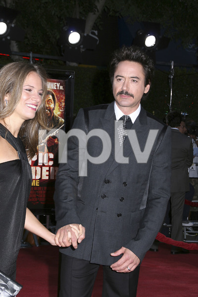 """""""Tropic Thunder"""" Premiere Susan Downey, Robert Downey Jr.8-11-2008 / Mann Village Theater / Los Angeles, CA / Dreamworks / Photo by Max Rodeo - Image 23587_0066"""