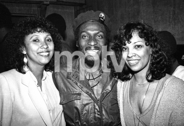 Jimmy Cliff backstage at the Roxy theater in West Hollywood firing up a joint after his concert circa late 1970s© 1978 Michael Jones - Image 23594_0017