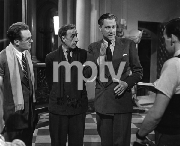 """""""The Fallen Idol""""Director Carol Reed, camera operator Denys N. Coop, associate producer Phil Brandon, cinematographer Georges Perinal1948 London Film Productions** I.V. - Image 23617_0003"""