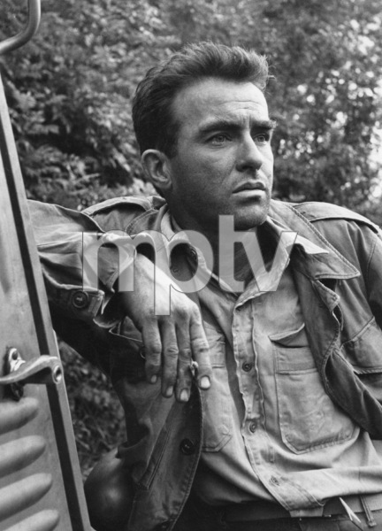 """""""The Young Lions""""Montgomery Clift1958 20th Century Fox © 1978 Leo Fuchs - Image 23697_0005"""