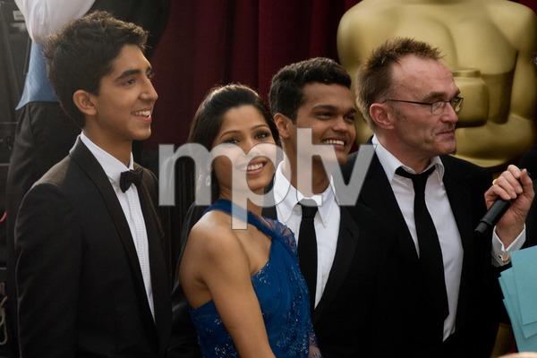 """The 81st Annual Academy Awards"" (Arrivals)Dev Patel, Freida Pinto, Madhur Mittal, Danny Boyle02-22-2009 © 2009 A.M.P.A.S. - Image 23704_0065"