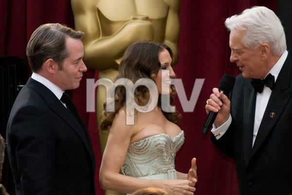 """The 81st Annual Academy Awards"" (Arrivals)Matthew Broderick, Sarah Jessica Parker, Robert Osborne02-22-2009Photo by Erik Ovanespour © 2009 A.M.P.A.S. - Image 23704_0067"
