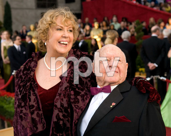 """""""The 81st Annual Academy Awards"""" (Arrivals)Jan Rooney, Mickey Rooney02-22-2009Photo by Jon Didier © 2009 A.M.P.A.S. - Image 23704_0069"""