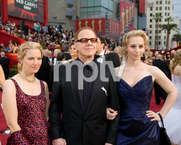 """The 81st Annual Academy Awards"" (Arrivals)Bridget Fonda, Danny Elfman, Mali Elfman02-22-2009Photo by Jon Didier © 2009 A.M.P.A.S. - Image 23704_0091"