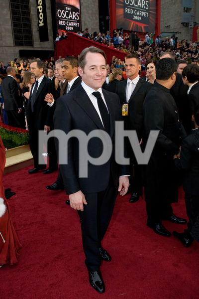 """The 81st Annual Academy Awards"" (Arrivals)Matthew Broderick02-22-2009Photo by Jon Didier © 2009 A.M.P.A.S. - Image 23704_0148"