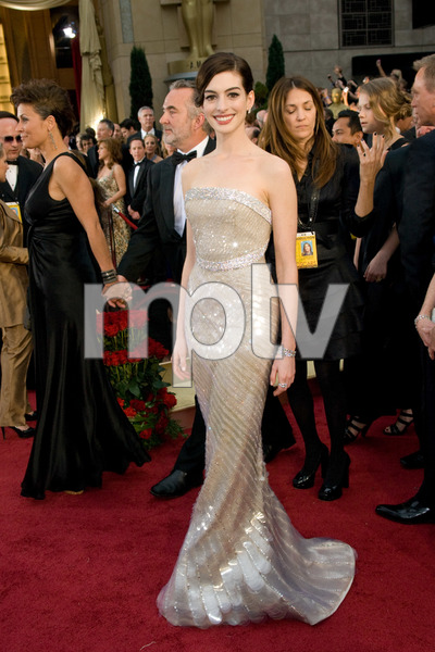 """The 81st Annual Academy Awards"" (Arrivals)Anne Hathaway02-22-2009Photo by Jon Didier © 2009 A.M.P.A.S. - Image 23704_0154"