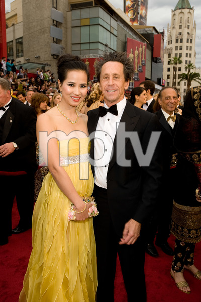"""""""The 81st Annual Academy Awards"""" (Arrivals)Chau-Giang Thi Nguyen, Brian Grazer02-22-2009Photo by Darren Decker © 2009 A.M.P.A.S. - Image 23704_0166"""
