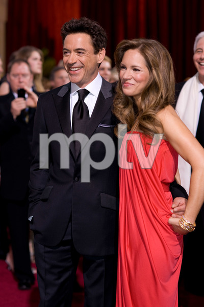 """The 81st Annual Academy Awards"" (Arrivals)Robert Downey Jr., Susan Downey02-22-2009Photo by Armando Flores © 2009 A.M.P.A.S. - Image 23704_0177"