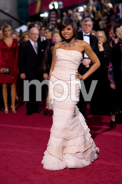 """The 81st Annual Academy Awards"" (Arrivals)Taraji P. Henson02-22-2009Photo by Armando Flores © 2009 A.M.P.A.S. - Image 23704_0184"