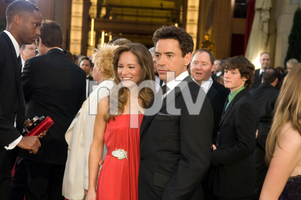 """""""The 81st Annual Academy Awards"""" (Arrivals)Susan Downey, Robert Downey Jr.02-22-2009Photo by Jon Didier © 2009 A.M.P.A.S. - Image 23704_0189"""