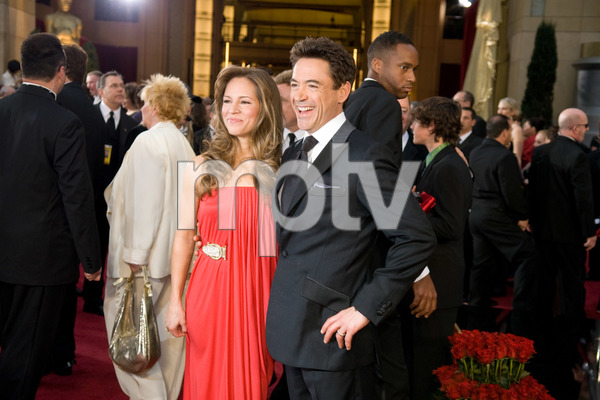 """""""The 81st Annual Academy Awards"""" (Arrivals)Susan Downey, Robert Downey Jr.02-22-2009Photo by Jon Didier © 2009 A.M.P.A.S. - Image 23704_0190"""
