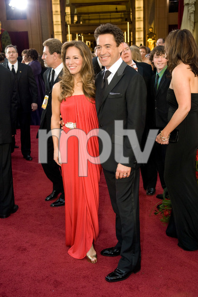 """""""The 81st Annual Academy Awards"""" (Arrivals)Susan Downey, Robert Downey Jr.02-22-2009Photo by Jon Didier © 2009 A.M.P.A.S. - Image 23704_0191"""