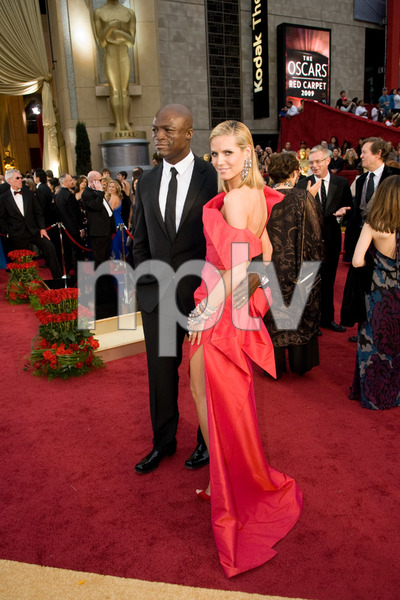 """The 81st Annual Academy Awards"" (Arrivals)Seal, Heidi Klum02-22-2009Photo by Jon Didier © 2009 A.M.P.A.S. - Image 23704_0195"