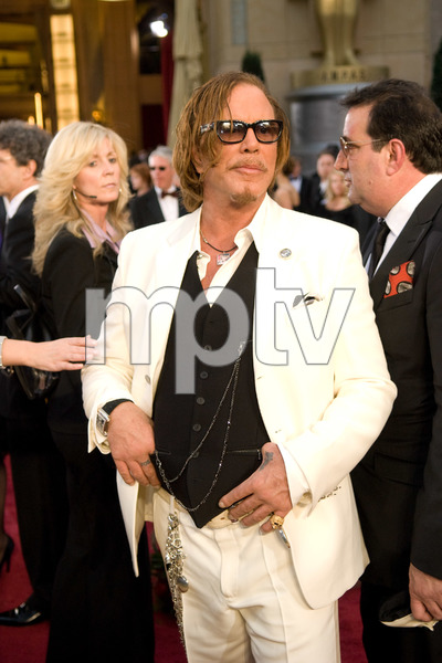 """""""The 81st Annual Academy Awards"""" (Arrivals)Mickey Rourke02-22-2009Photo by Jon Didier © 2009 A.M.P.A.S. - Image 23704_0198"""