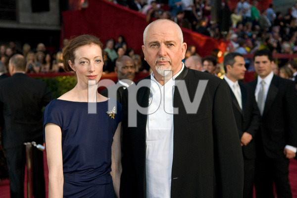 """""""The 81st Annual Academy Awards"""" (Arrivals)Meabh Flynn, Peter Gabriel02-22-2009Photo by Jon Didier © 2009 A.M.P.A.S. - Image 23704_0209"""