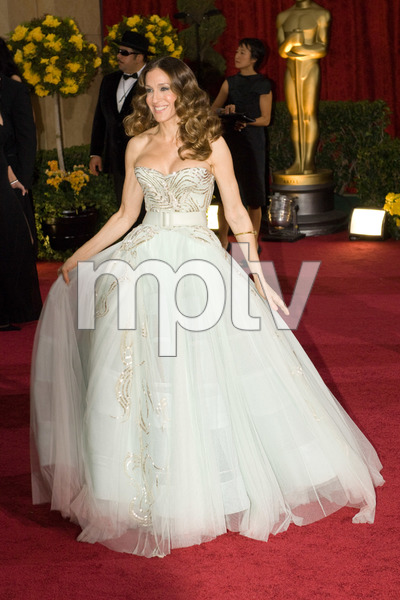 """""""The 81st Annual Academy Awards"""" (Arrivals)Sarah Jessica Parker02-22-2009Photo by Bryan Crowe © 2009 A.M.P.A.S. - Image 23704_0214"""