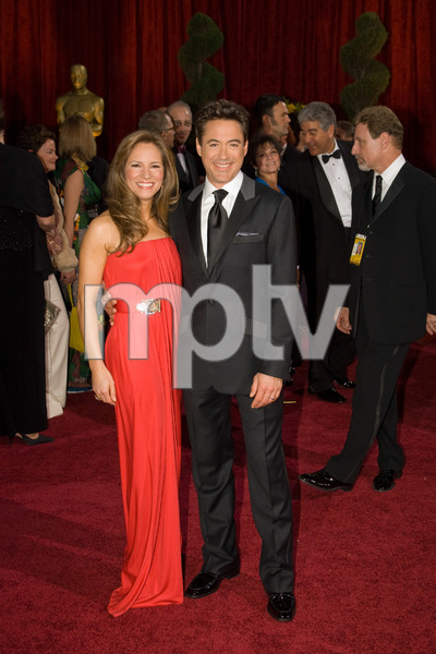 """""""The 81st Annual Academy Awards"""" (Arrivals)Susan Downey, Robert Downey Jr.02-22-2009Photo by Bryan Crowe © 2009 A.M.P.A.S. - Image 23704_0235"""