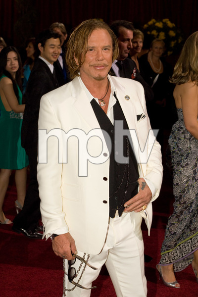 """The 81st Annual Academy Awards"" (Arrivals)Mickey Rourke02-22-2009Photo by Bryan Crowe © 2009 A.M.P.A.S. - Image 23704_0240"
