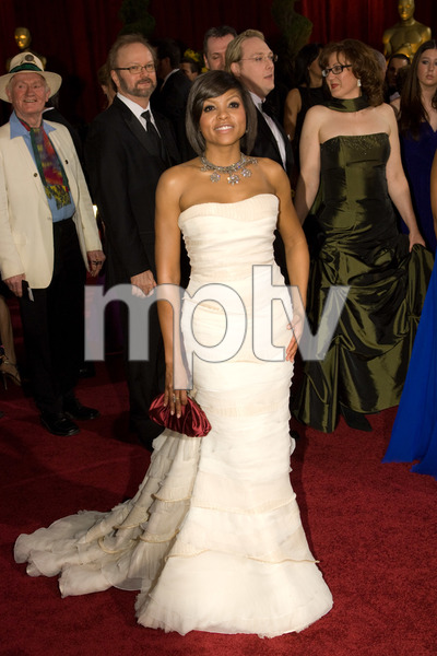 """""""The 81st Annual Academy Awards"""" (Arrivals)Taraji P. Henson02-22-2009Photo by Bryan Crowe © 2009 A.M.P.A.S. - Image 23704_0249"""