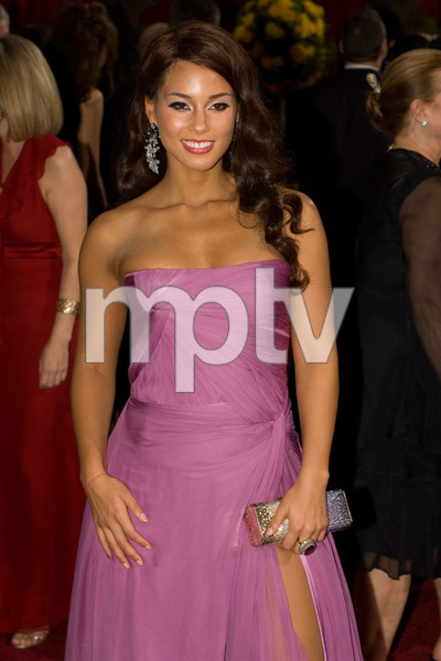 """The 81st Annual Academy Awards"" (Arrivals)Alicia Keys02-22-2009Photo by Bryan Crowe © 2009 A.M.P.A.S. - Image 23704_0253"