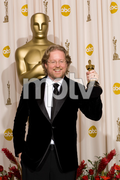 """The 81st Annual Academy Awards"" (Press Room)Andrew Stanton02-22-2009Photo by Bryan Crowe © 2009 A.M.P.A.S. - Image 23704_0291"