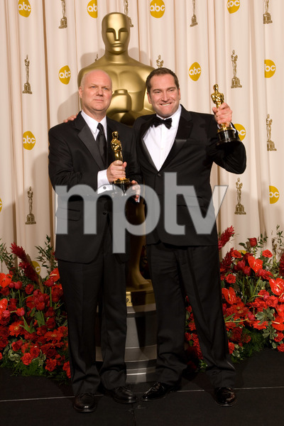 """""""The 81st Annual Academy Awards"""" (Press Room)Donald Graham Burt, Victor J. Zolfo02-22-2009Photo by Bryan Crowe © 2009 A.M.P.A.S. - Image 23704_0295"""