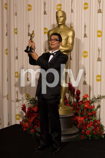 """The 81st Annual Academy Awards"" (Press Room)Yojiro Takita02-22-2009Photo by Bryan Crowe © 2009 A.M.P.A.S. - Image 23704_0300"