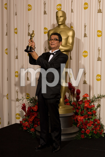 """The 81st Annual Academy Awards"" (Press Room)Yojiro Takita02-22-2009Photo by Bryan Crowe © 2009 A.M.P.A.S. - Image 23704_0300"