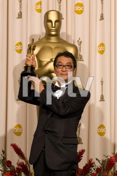 """The 81st Annual Academy Awards"" (Press Room)Yojiro Takita02-22-2009Photo by Bryan Crowe © 2009 A.M.P.A.S. - Image 23704_0301"