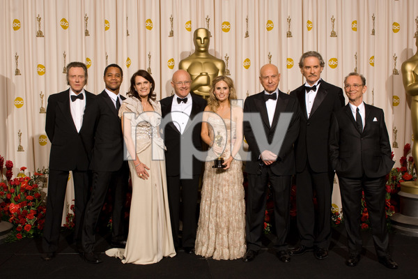 """The 81st Annual Academy Awards"" (Press Room)Christopher Walken, Cuba Gooding Jr., Alan Arkin, Kevin Kline, Joel Grey, Sally Ledger, Kim Ledger, Kate Ledger02-22-2009Photo by Bryan Crowe © 2009 A.M.P.A.S. - Image 23704_0317"