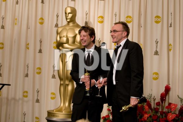 """The 81st Annual Academy Awards"" (Press Room)Christian Colson, Danny Boyle02-22-2009Photo by Richard Salyer © 2009 A.M.P.A.S. - Image 23704_0333"