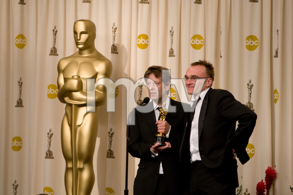"""The 81st Annual Academy Awards"" (Press Room)Christian Colson, Danny Boyle02-22-2009Photo by Richard Salyer © 2009 A.M.P.A.S. - Image 23704_0334"