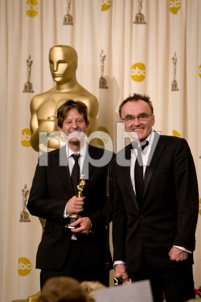 """The 81st Annual Academy Awards"" (Press Room)Christian Colson, Danny Boyle02-22-2009Photo by Richard Salyer © 2009 A.M.P.A.S. - Image 23704_0335"