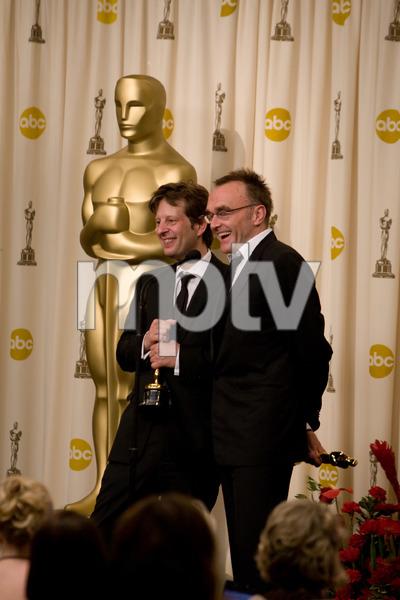 """The 81st Annual Academy Awards"" (Press Room)Christian Colson, Danny Boyle02-22-2009Photo by Richard Salyer © 2009 A.M.P.A.S. - Image 23704_0336"
