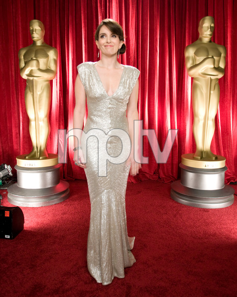 """The 81st Annual Academy Awards"" (Backstage)Tina Fey02-22-2009Photo by Michael Yada © 2009 A.M.P.A.S. - Image 23704_0342"