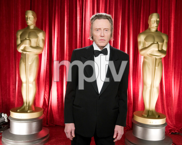 """The 81st Annual Academy Awards"" (Backstage)Christopher Walken02-22-2009Photo by Michael Yada © 2009 A.M.P.A.S. - Image 23704_0351"